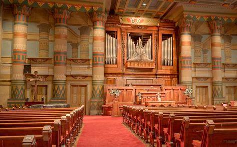 Sanctuary Downtown Presbyterian Church Nashville