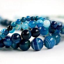 "Women/'s 10 Mm Naturel Bleu Turquie Turquoise Pierres Précieuses Perles Collier 18/"""