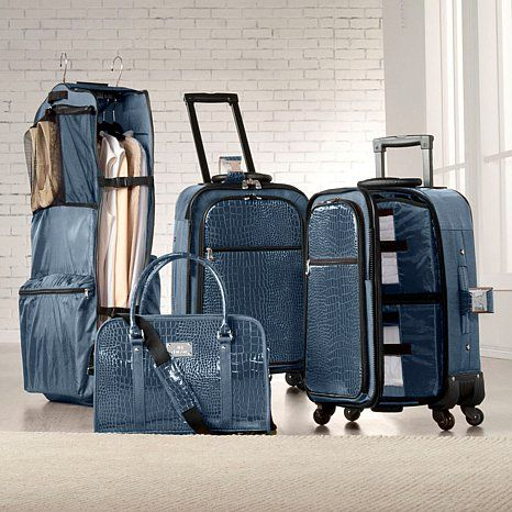 Joy Mangano Clothes It All® Luggage System | I need this ...