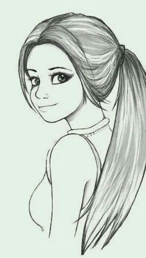 Рисунки для срисовки для девочек 10 лет карандашом крутые и легкие, картинки