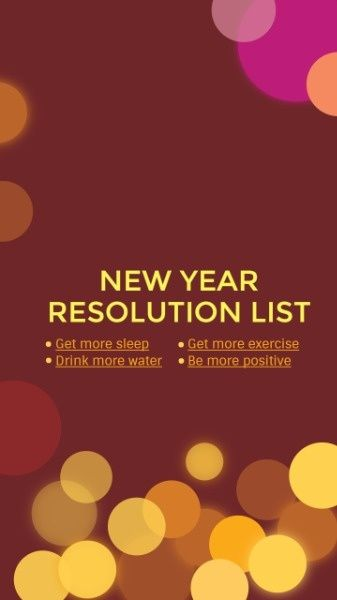 How To Design A New Year Resolution List Mobile Wallpaper Click For More New Years Resolution List Healthy Food List Kids Diet