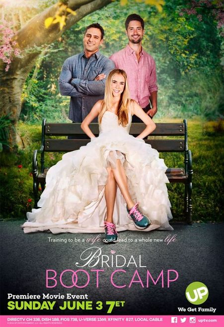 Its A Wonderful Movie Your Guide To Family And Christmas Movies On Tv Bridal Boot Camp An Up Premiere Movie Wedding Movies Movies Hallmark Movies Romance