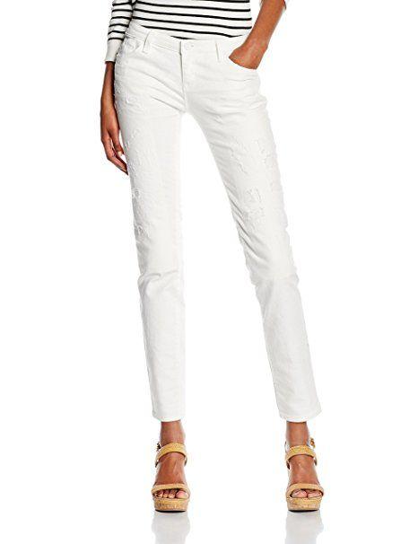 neueste Kollektion tolle Preise Laufschuhe Armani Jeans Damen Straight Leg Jeanshose C5J065X, Gr. W28 ...