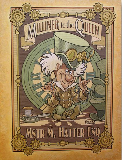 Steampunk Tendencies | MichaelPeraza-hatter-mechanical-kingdoms