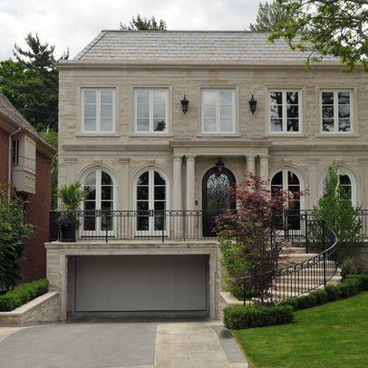 Pin By Msandrasharon On Dream House Inspirations Facade House Garage Design House Front Design