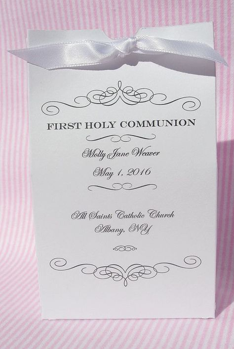 First Communion Party Favors - Holy Communion Decorations - First Communion These finely crafted First Communion Party Favors make the