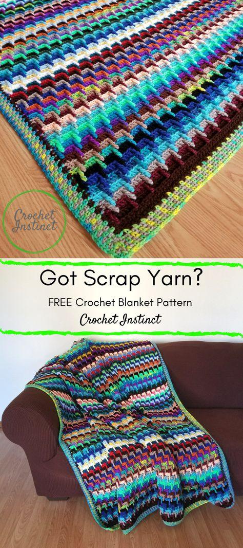 FREE StashBuster Blanket Pattern