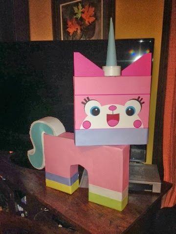 adventures in everyday life ardyns unikitty lego valentine box valentines pinterest unicornios piatas y bricolaje - Cat Valentine Box
