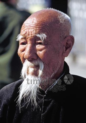 Chinese Mit Bart In Peking China 1988 Raigro Timeline Images