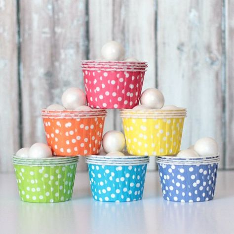 Candy Cups - Rainbow Mix