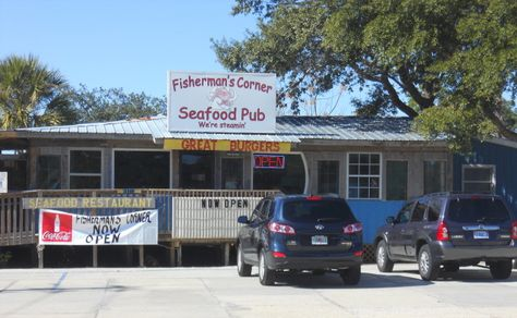 These 10 Little Known Restaurants In Florida Are Hard To Find But Worth The Search... 1. Fisherman's Corner, Perdido Key