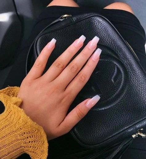 ✔ 60 best eye catching and trendy coffin acrylic nails design 20 > Fieltro.Net