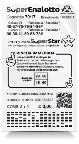Anniversario Matrimonio Numeri Lotto.Scrivoquandovoglio Lotto Superenalotto E Superstar 16 01 2020