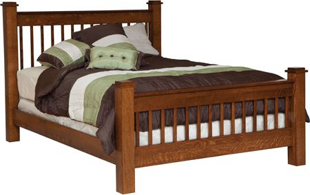 Up To 33 Off Michaels Mission Slat Bed Amish Outlet Store