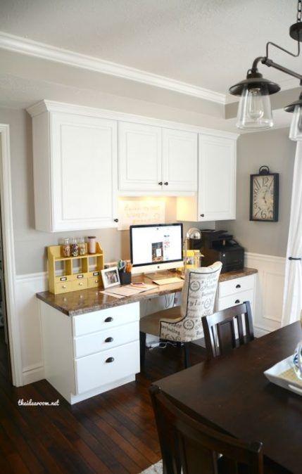 21 Ideas Craft Room Office Combo Gray Dining Room Office Living Room Design Brown Craft Room Office