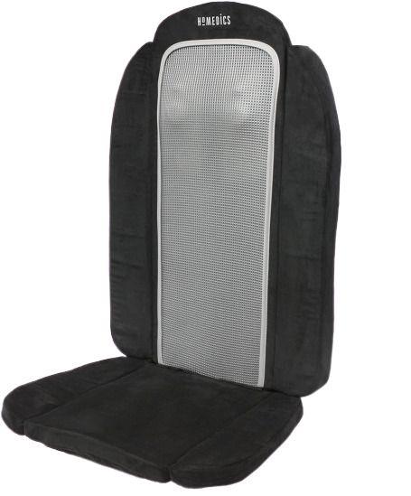Homedics 3d Foldable Shiatsu Back Massager Chair Cushion With Heat Sfm 250h Homedics In 2020 Foldables Shiatsu Home D
