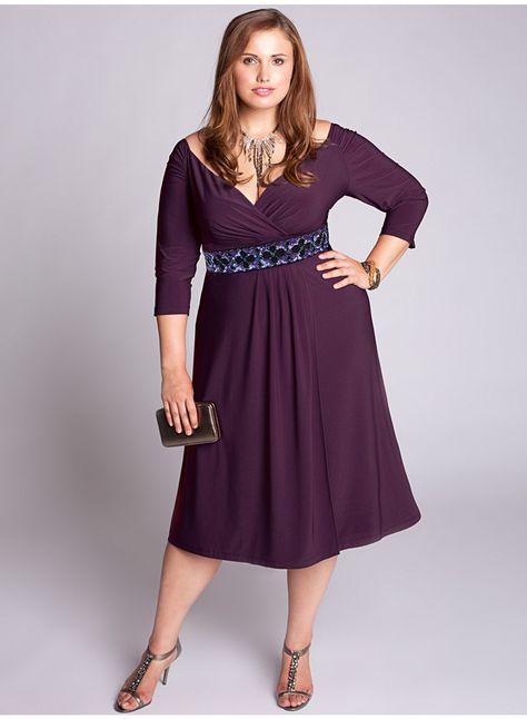 Loren Dress in Plum