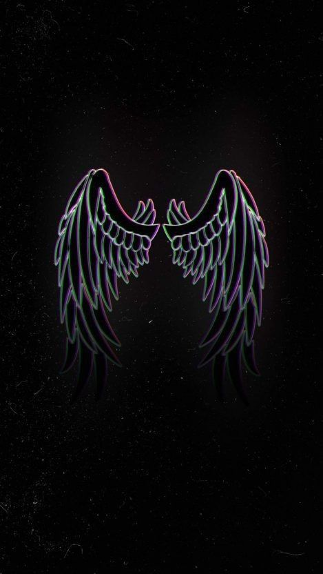 Nothing In 2021 Angel Wings Iphone Wallpaper Scary Wallpaper Wings Wallpaper Aesthetic iphone angel wings wallpaper