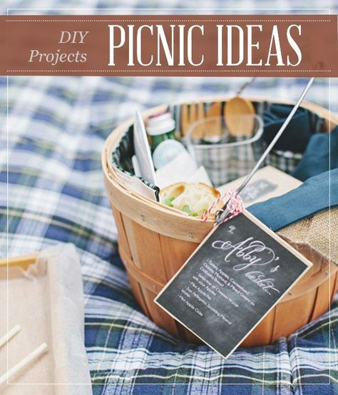 Crafts that will make your picnic picture-perfect,and yummy food recipes on your basket By Pioneer Settler. http://pioneersettler.com/9-best-diy-picnic-food-ideas-crafts/