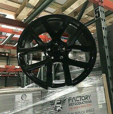 Advertisement Ebay 24 Srt10 Ram Wheels Gloss Black All Terrain