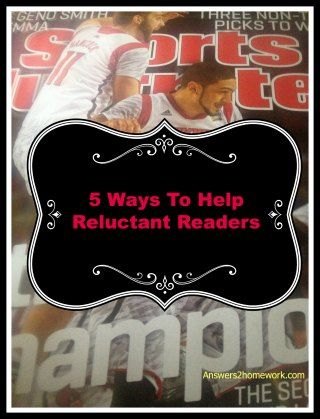 5 Reasons Sports Illustrated Will Help Reluctant Readers