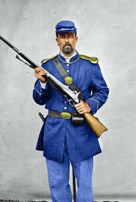 Union Soldier in Uniform