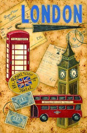 Posters Para Impressao Londres Dibujos Londres Y Imprimir Sobres