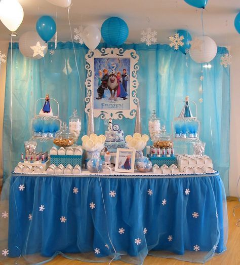 56 Trendy Ideas For Birthday Themes Decoration Frozen Party Frozen Themed Birthday Party Frozen Party Decorations Frozen Birthday Party