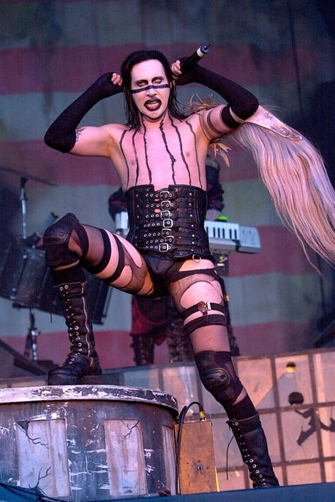 Hats off to these performers who have the balls and sense of humour to wear some of the most outrageous on-stage looks we've ever seen.