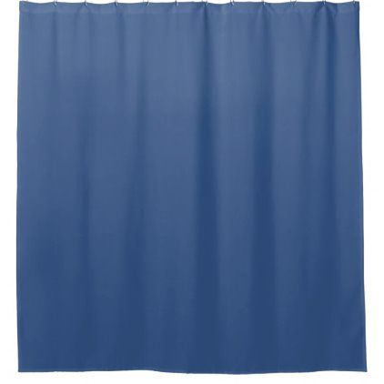 Color Of 2020 Classic Blue Shower Curtain Zazzle Com In 2020