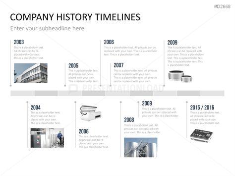 history timeline templates