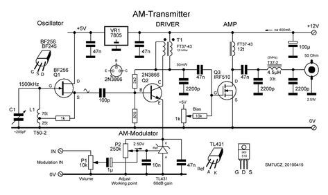 ECL85 AM-Transmitter | Electronic & Electric in 2019 | Electronic