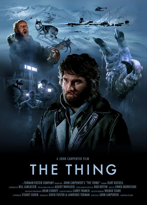 Total Recall, Robocop, Aliens, The Thing Movie Prints - Missed Prints