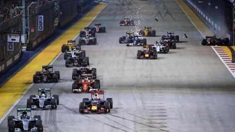 Accroché violemment dès le départ Hülkenberg abandonne le Grand Prix de Singapour