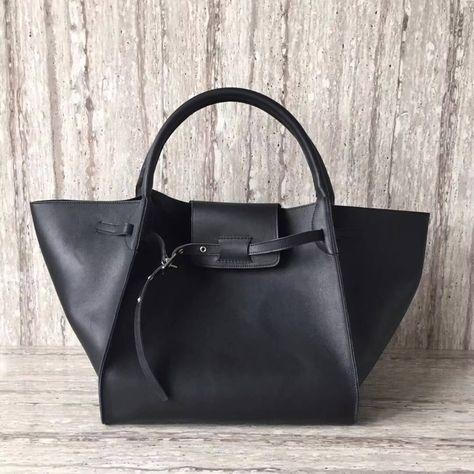 Celine Medium Big Bag in Smooth Calfskin Black 2018