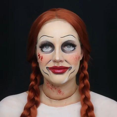 Annabelle Makeup Tutorial