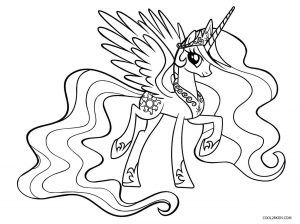 My Little Pony Coloring Pages Princess Cadence Photos