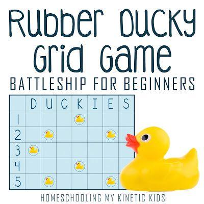 Rubber Duck Grid Game Rubber Duck Grid Game Rubber Ducky Baby Shower