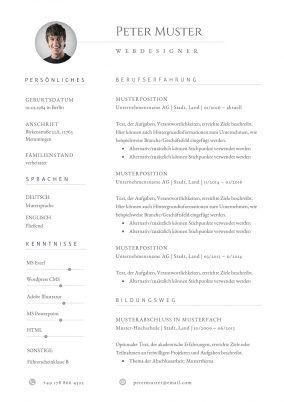 Lebenslauf Vorlage 11 Lebenslauf Lebenslauf Vorlagen Word Moderner Lebenslauf