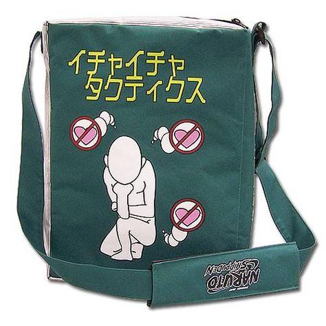 Naruto Shippuden Make Out Messenger Bag   Bags, Naruto ...
