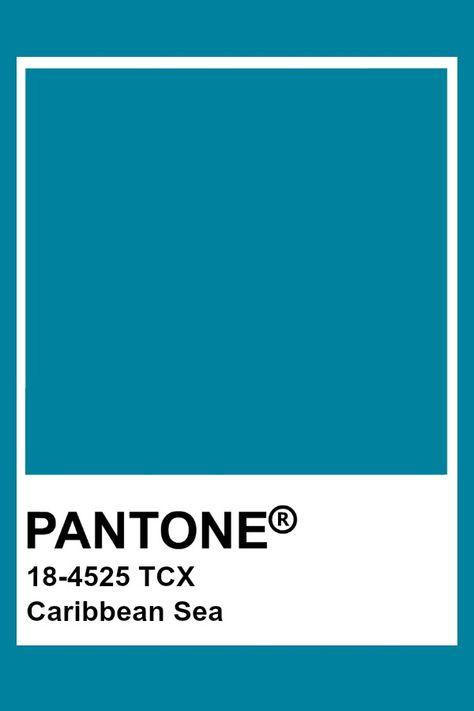 Pantone Caribbean Sea