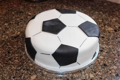 Image Result For How To Make A Soccer Cake Soccer Cake Soccer Ball Cake Soccer