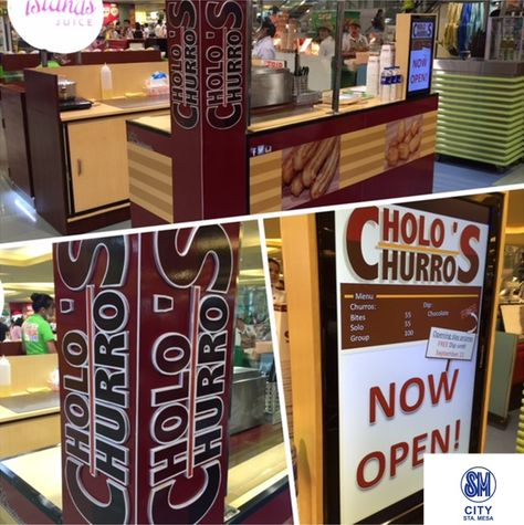 Cholo's Churros NOW OPEN at the Lower Ground Floor SM Foodcourt SM CITY STA. MESA!  #iLoveSM #iLoveSMStaMesa #EverythingsHere #SMAnnouncements  #SMEats  @CholosChurros