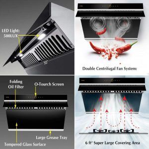 Fotile Jqg7505 Is A Hot New Release Sleek And Modern 30 Inch Size Ducted Range Hood That Can