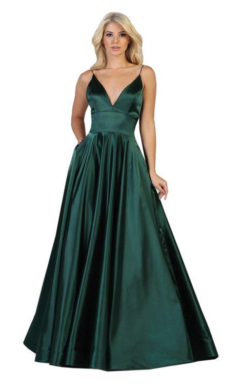 Green Formal Dresses, Formal Dress Shops, Cute Prom Dresses, Pageant Dresses, Mini Dresses, Satin Dresses, Vestidos Color Verde Esmeralda, Military Ball Dresses, Formal Prom
