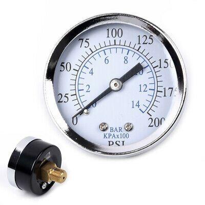 Ad Ebay Url Oil Pressure Gauge Mini Air Water Npt 0 200psi 0 14 Bar Pumps Tester Equipment In 2020 Water Pressure Gauge Air Pressure Gauge Bar Oil