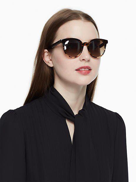 21d7154e9a76 Kate Spade Abianne Sunglasses, Brown Havana | Products | Kate spade ...