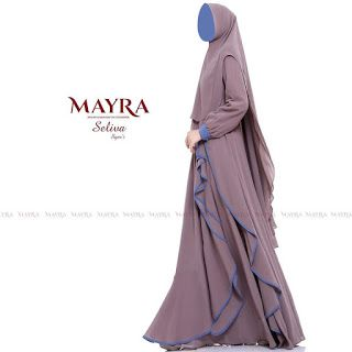 Model Gamis Syar I Ceruti Babydoll Premium Mewah Terbaru Mode Abaya Casual Hijab Outfit Hijab Chic
