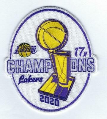 Official 2020 Nba Finals 17x Champions Los Angeles Lakers Collectible Patch Ebay In 2020 Nba Finals Los Angeles Lakers Lakers