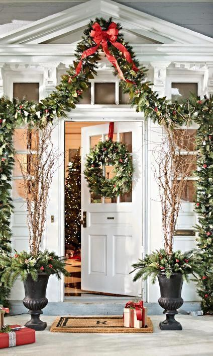 Our luxurious and pre-lit Woodland Collection gives your display a professional look with an abundant mix of all-weather, fade-resistant evergreen, richly punctuated with vibrant magnolia leaves, berries, and real pinecones. Christmas Greenery, Woodland Christmas, Christmas Door, Outdoor Christmas Decorations, Blue Christmas, Rustic Christmas, Beautiful Christmas, Christmas Wreaths, Merry Christmas